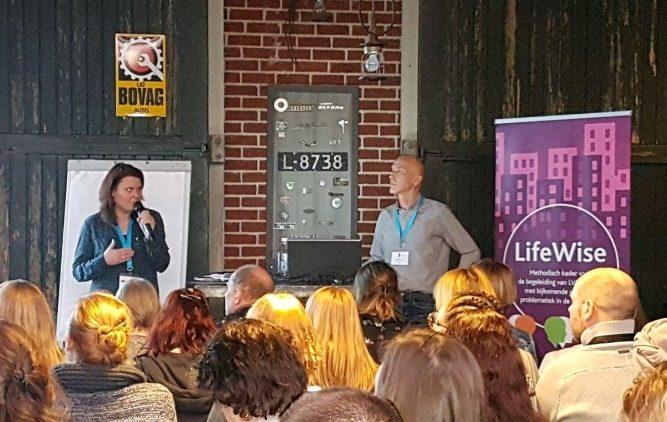 Veel interesse voor LifeWise op Forensisch festival